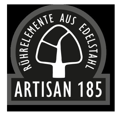 KitchenAid Artisan 185 mit Rührelementen aus Edelstahl