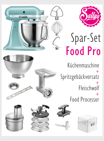 Artisan 5KSM185 im Set mit Food Processor