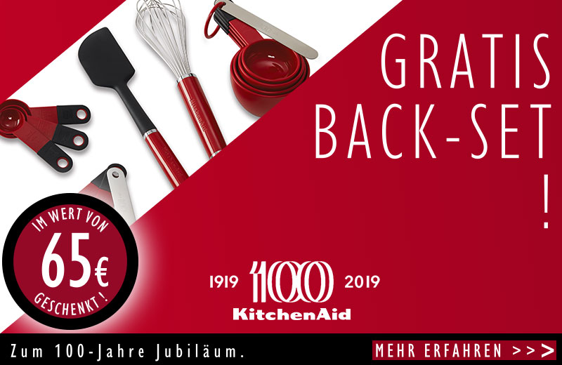 KitchenAid Backset gratis