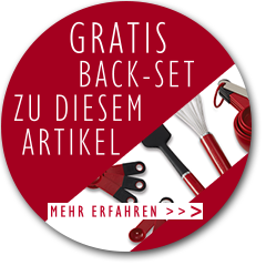 Gratis KitchenAid Back-Set zu diesem Artikel