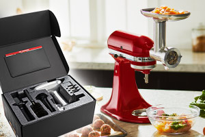 KitchenAid 5KSMMGA Fleischwolf Metall