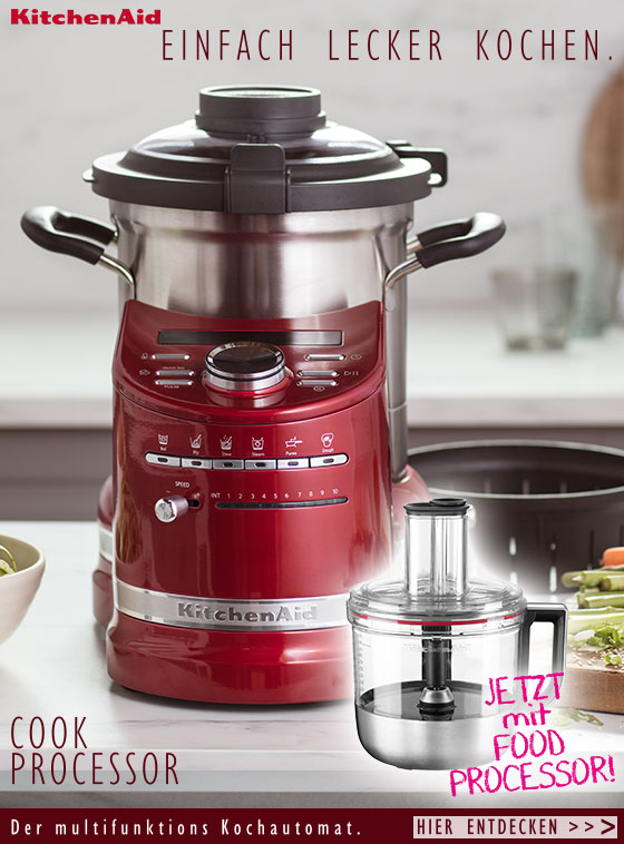 Der Artisan Cook Processor von KitchenAid mit Food Processor