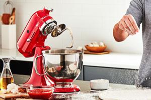 KitchenAid Artisan in der Farbe Passion Red