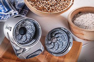 Mahlwerk aus Korund-Keramik