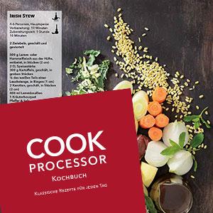 Das Kochbuch des Cook Processors aus dem Lieferumfang