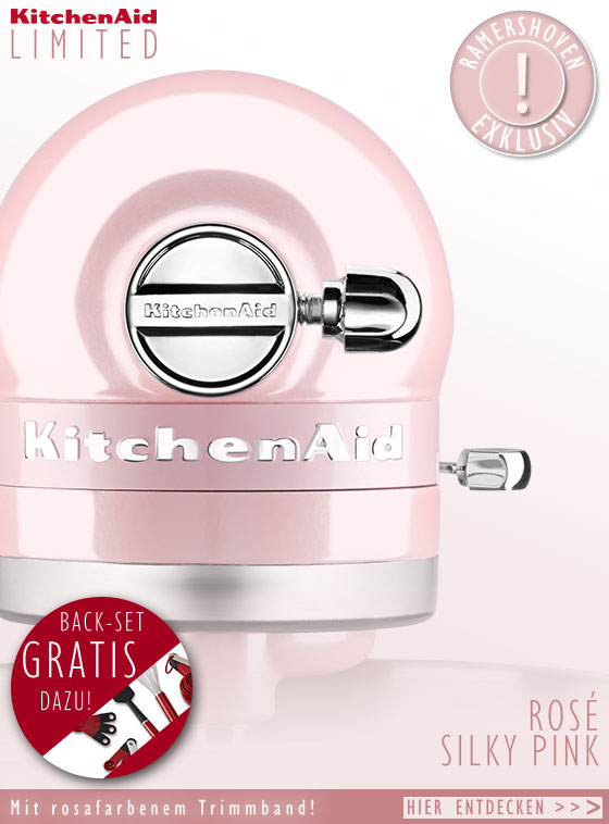 KitchenAid Küchenmaschine Artisan Limited Edition Silky Pink