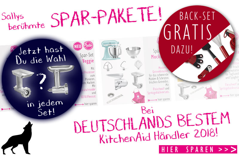 KitchenAid Küchenmaschine im Set