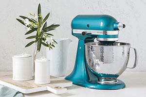 KitchenAid Küchenmaschine Sonderedition PETROL aus Einfach Sally auf VOX