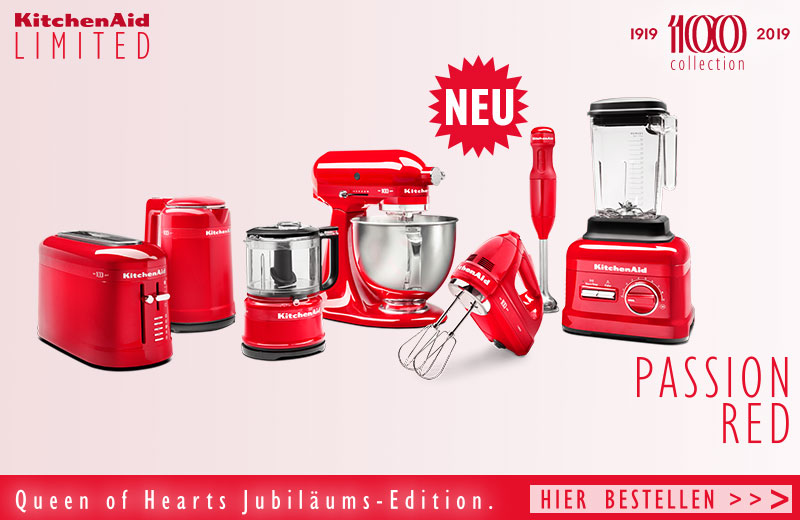 KitchenAid Queen of Hearts Collection Passion Red