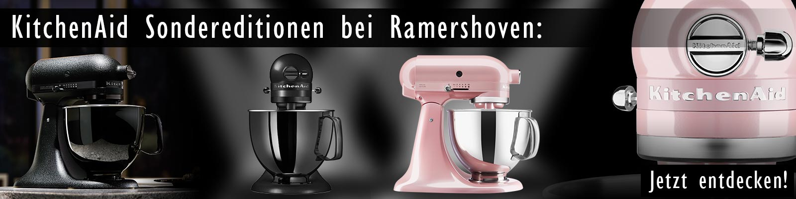 KitchenAid Special Edition Black Tie und Silky Pink