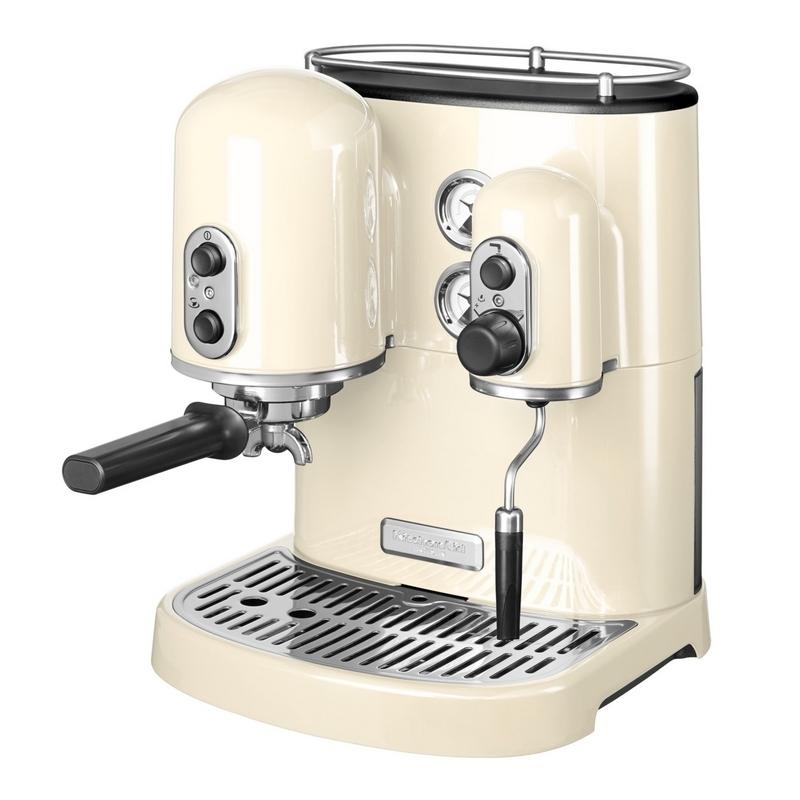 kitchenaid artisan espresso kaffeemaschine creme. Black Bedroom Furniture Sets. Home Design Ideas