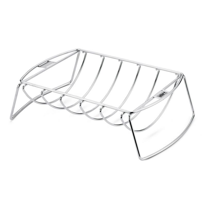 weber grill zubeh r spare rip halter und bratenkorb 27. Black Bedroom Furniture Sets. Home Design Ideas