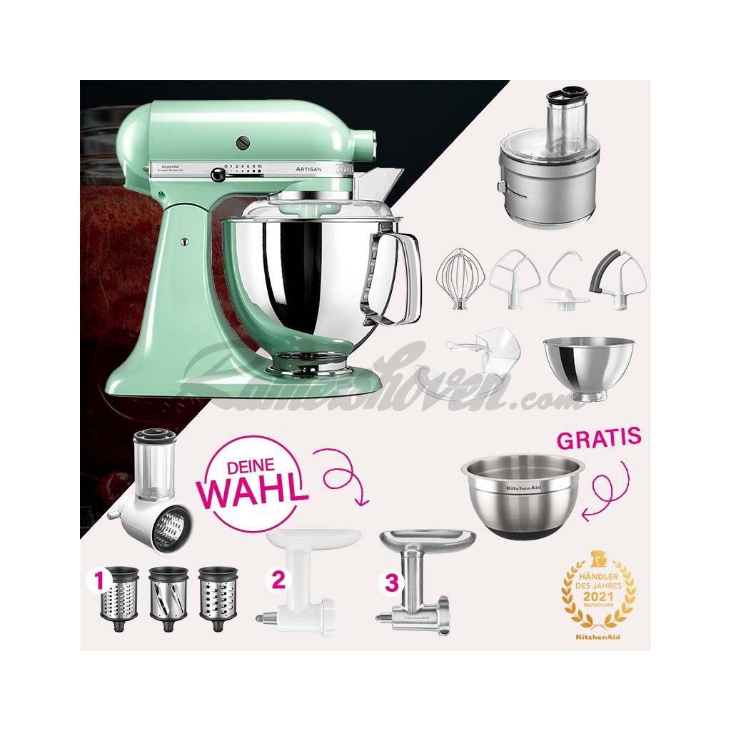 Kitchenaid Artisan 4 8 Liter Ksm175 Spar Set Mit Food Processor Und