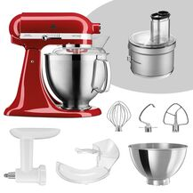 KitchenAid Artisan 4,8 Liter KSM185 Spar-Set mit Food...
