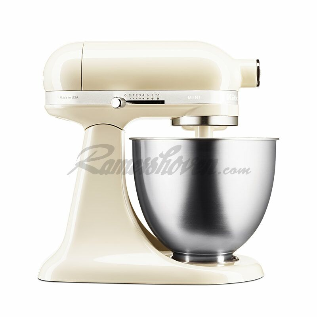 Kitchenaid Mini Creme Mit Glasschussel Standard Zubehor Und Gratis Gemuseschneider