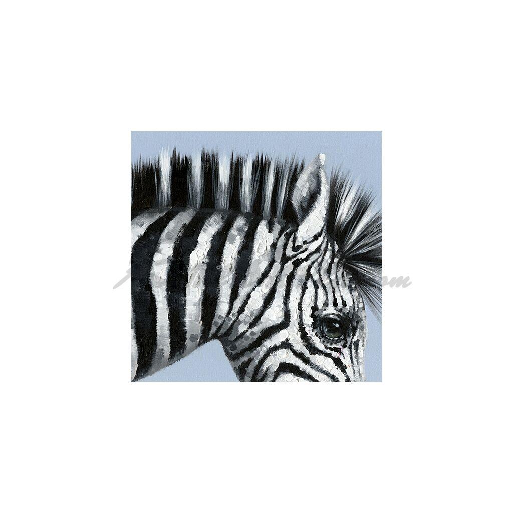 zebra und v gel handveredelter druck 249 00. Black Bedroom Furniture Sets. Home Design Ideas