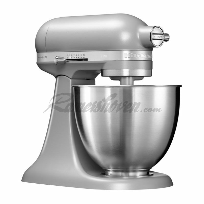 Kitchenaid Mini Grau Mit Glassch 252 Ssel Gratis Zubeh 246 R