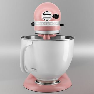 KITCHENAID® LIMITED Rose White mit Entsafter