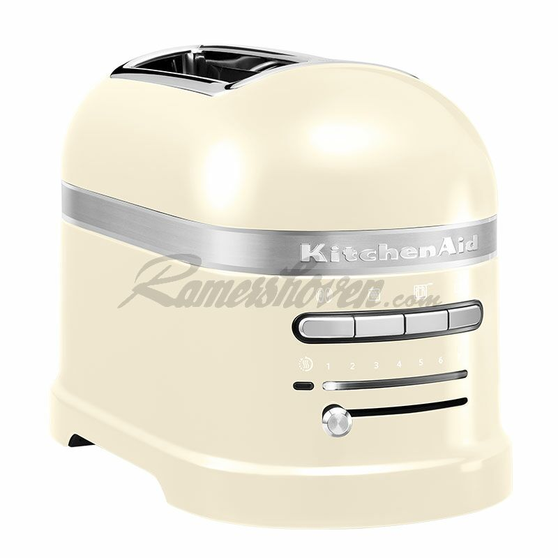 kitchenaid artisan 2 scheiben toaster mit 1 sandwichzange creme ra 259 95. Black Bedroom Furniture Sets. Home Design Ideas