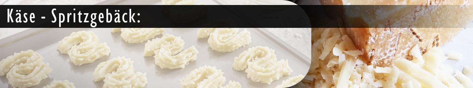 Rezept für Käse-Spritzgebäck mit einem Fleischwolf für die Küchenmaschine