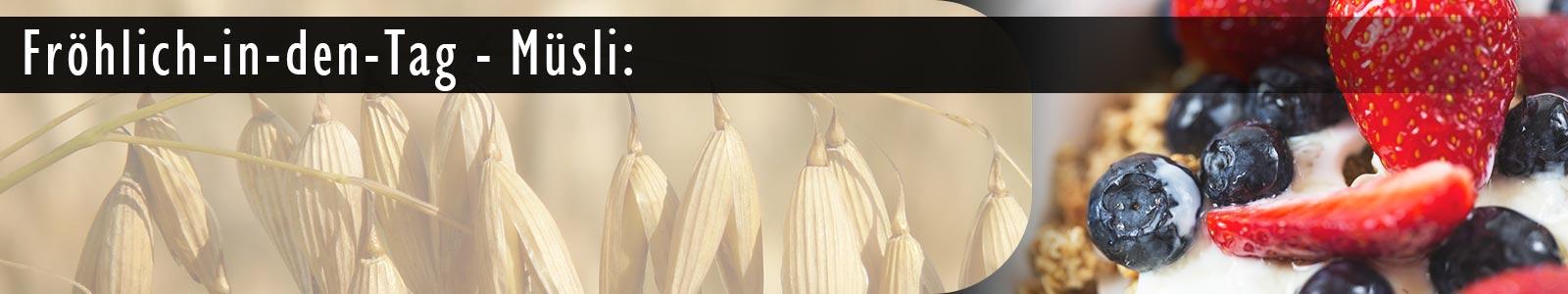 Rezept für frisches Müsli mit einer Getreidemühle für die Küchenmaschine