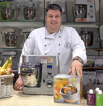 Produktvorführung Kenwood Küchenmaschinen